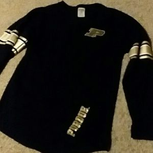 VS PINK Purdue sweater